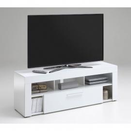 TV-alus Vibio 1 UP, 150x41,5xH53 cm, valge kõrgläige