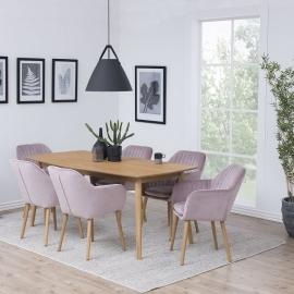 Söögilauakomplekt NAGANO 6-tooli