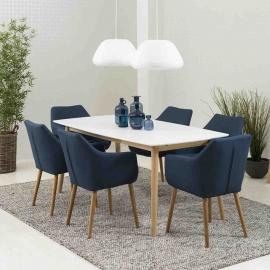 Söögilauakomplekt NAGANO 6-tooliga
