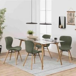 Söögilauakomplekt TAXI 4-tooliga