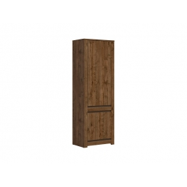 Kapp KADA tume tamm, 69x45,5xH204,5 cm