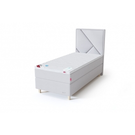 Sleepwell RED CONTINENTAL kontinentaalvoodi 120x200x50 cm, pehme, helehall