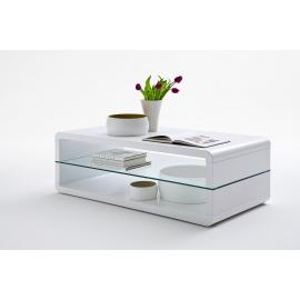 Diivanilaud AGATHA valge läige, 120x60xH41 cm