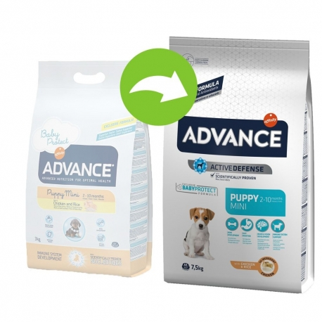 ADVANCE Mini Puppy 7,5kg koeratoit