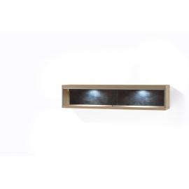 Seinariiul ESPERO tamm, 124x23xH27 cm, LED