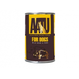 AATU koera konserv metssiga/siga 6x400g