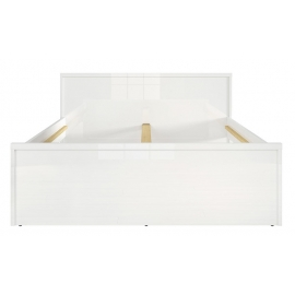 Voodi PORI valge läige, 169x208xH46/81 cm