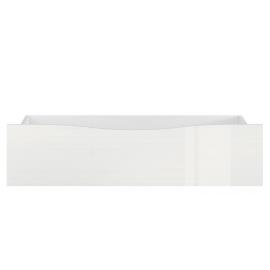 Sahtel voodile PORI valge läige, 98x69xH23,5 cm