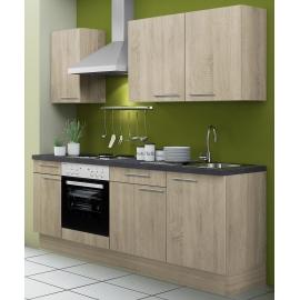Köögikomplekt OPTIkoncept hele tamm, 210 cm