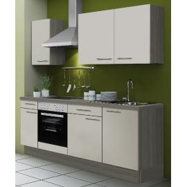 Köögikomplekt OPTIkoncept beež, 210 cm