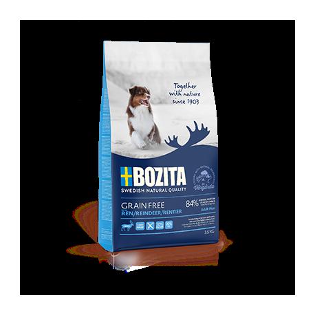 Bozita Grain Free Adult Plus Reindeer koeratoit 12,5kg