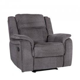 Tugitool NORMAN recliner 102x99xH102cm, tumehall