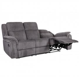 Diivan NORMAN 3-kohaline recliner 216x99xH102cm, pruun