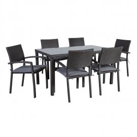 33fd304cc8a Eripakkumised. Aiamööbli komplekt BASIC-2 laud ja 6 tooli Kiirvaade. HEA  HIND!