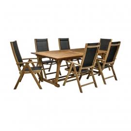 Aiamööbli komplekt FUTURE laud ja 6 tooli