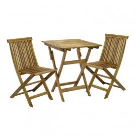 Rõdukomplekt FINLAY laud ja 2 tooli