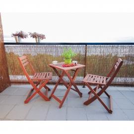 Rõdukomplekt ROUEN laud ja 2 tooli