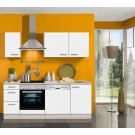 Köögikomplekt OPTIflexx 210 cm, valge või antratsiit