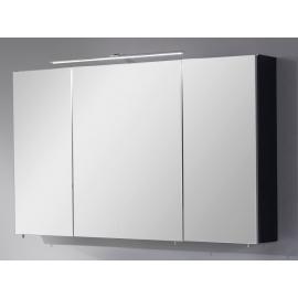 Peegelkapp OPTIbasic 4060 antratsiit läikega, 120x17,6xH72 cm LED