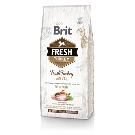 Brit FRESH koeratoit Turkey & Pea for Fit & Slim 12kg