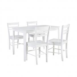 Söögilauakomplekt TAKE AWAY 4-tooliga